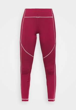GRAPHIC WORKOUT READY SPEEDWICK - Leggings - punch berry