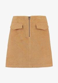 Levete Room - GERTRUD - Áčková sukně - brown clay - 3