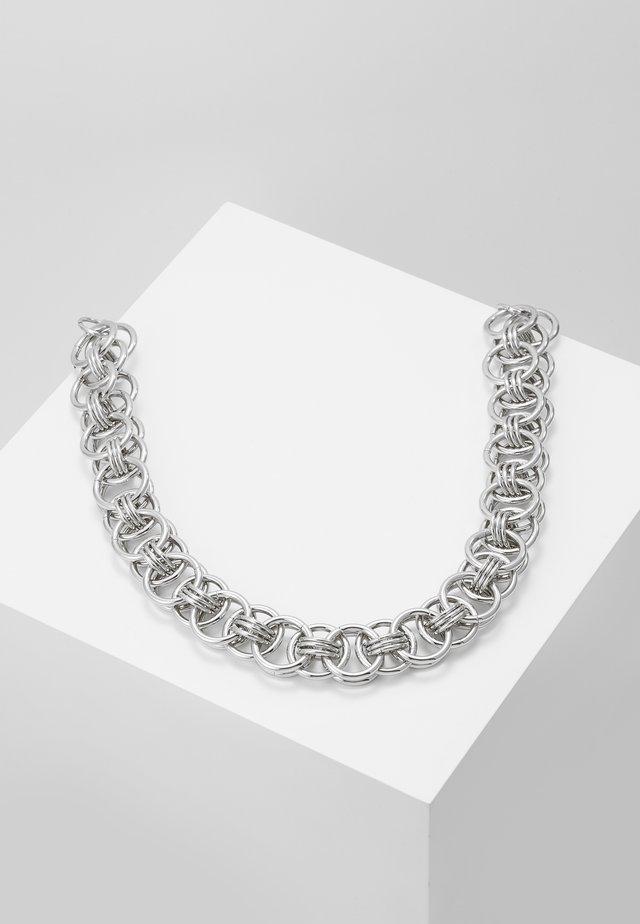 CHUNKY CHAIN NECK - Collana - silver-coloured