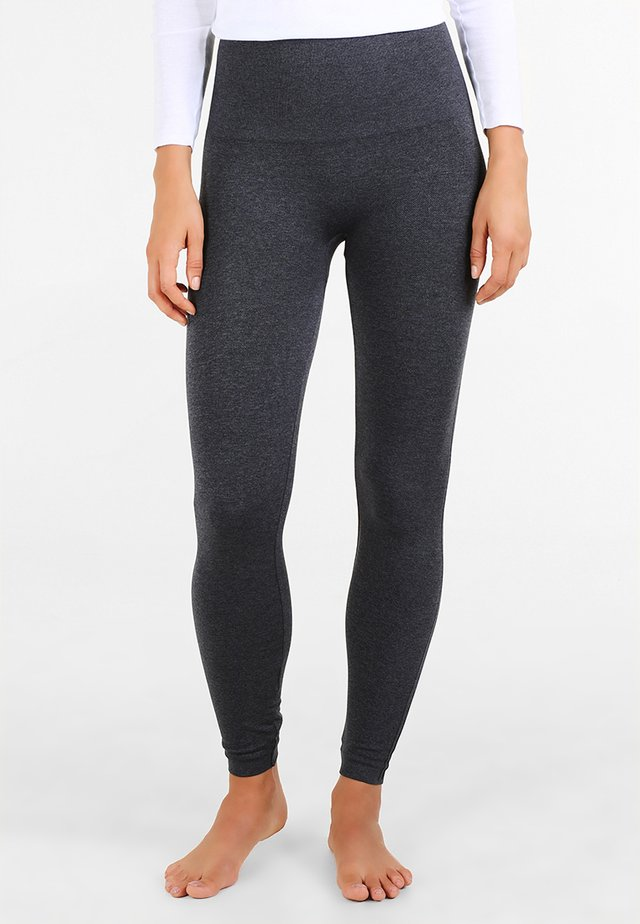 LOOK AT ME NOW  - Leggings - Stockings - heather charcoal
