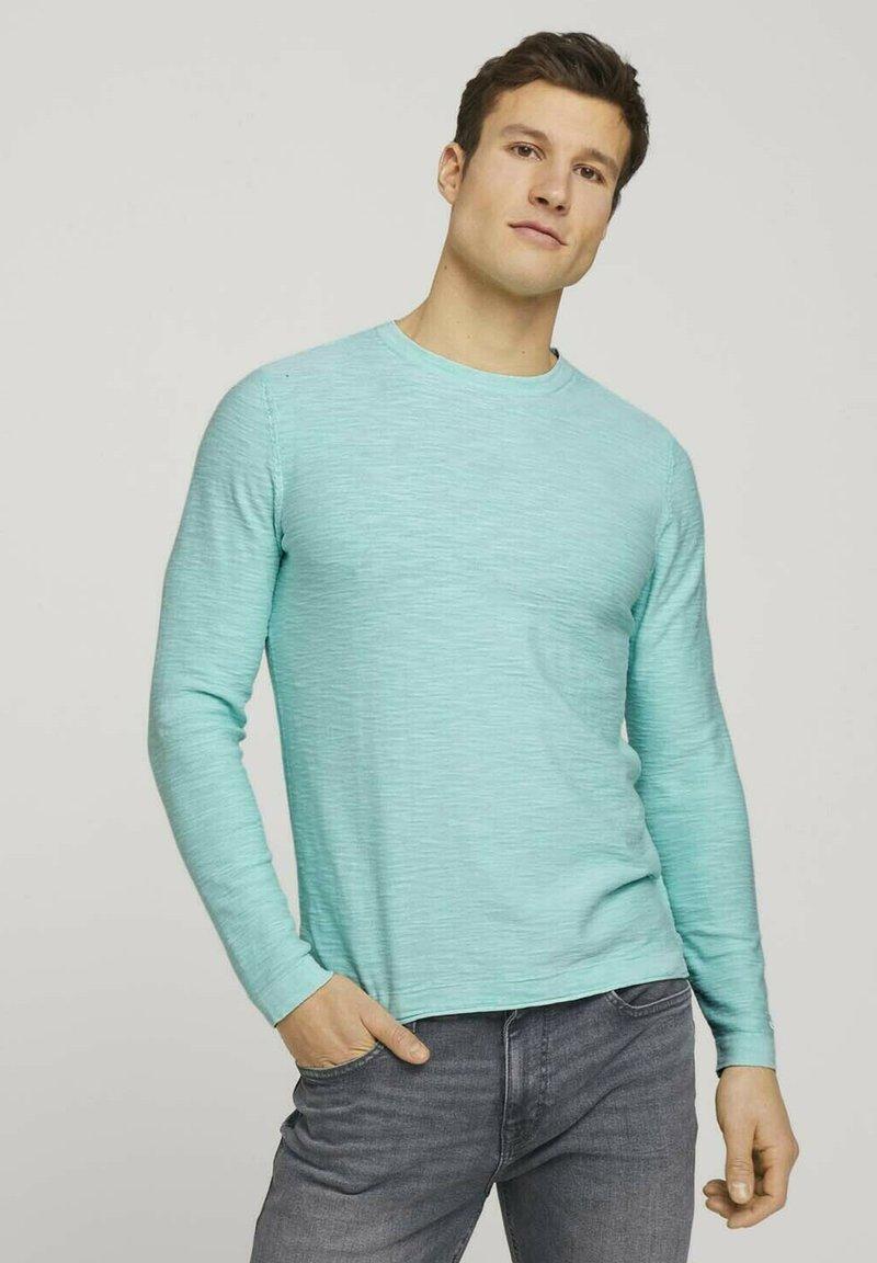 TOM TAILOR - Sweatshirt - lucite green