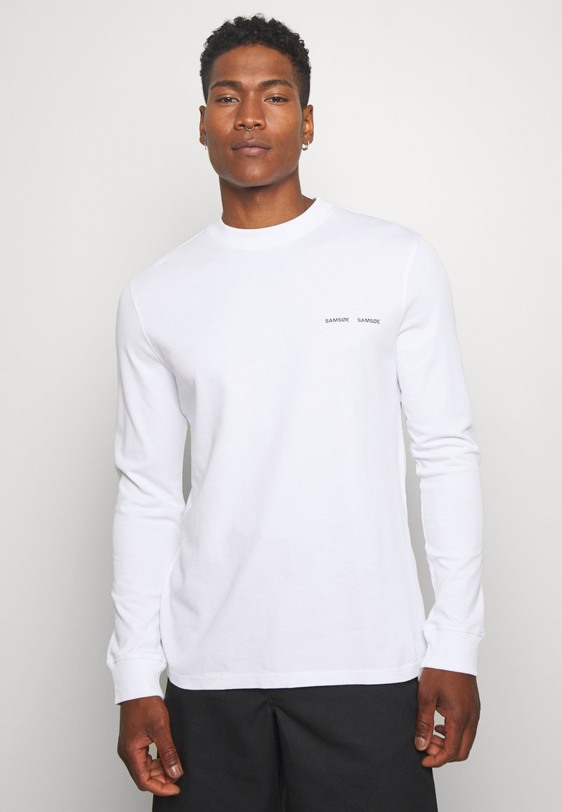 Samsøe Samsøe - NORSBRO - Long sleeved top - white