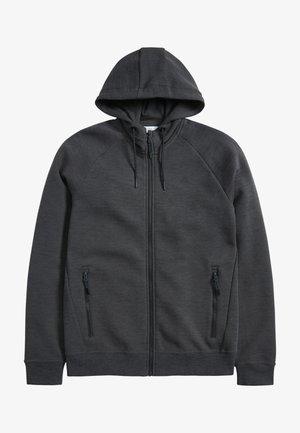 Felpa aperta - dark grey