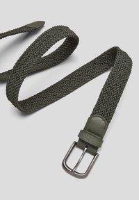s.Oliver - Braided belt - khaki - 5