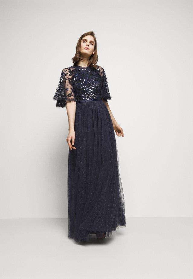 RIBBON BODICE DRESS - Robe de cocktail - sapphire sky