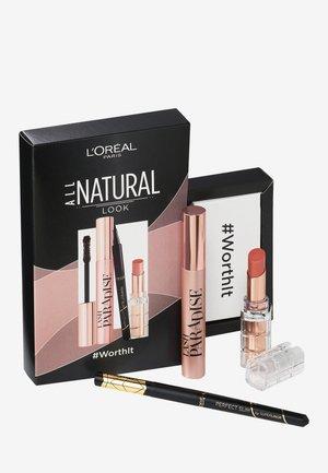 ALL NATURAL-SET THE NATURAL LOOK - Makeup set - -