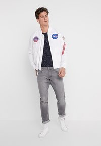 Alpha Industries - STARRY - T-shirt con stampa - rep blue - 1