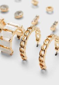 Stradivarius - Earrings - gold - 3