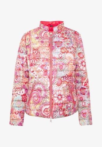 Light jacket - paisley coral