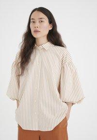 InWear - YOKOIW - Button-down blouse - honey stripe - 5