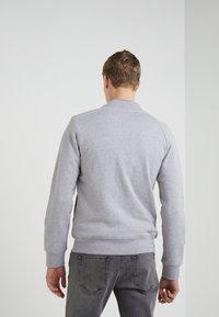 J.LINDEBERG - JASPER  STRUCTURE - Zip-up hoodie - grey melange - 2