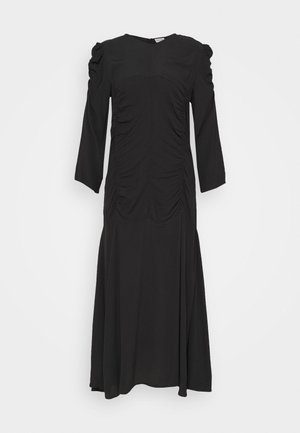 MOONIA - Maxikleid - black