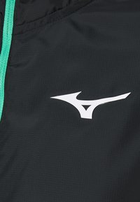 Mizuno - TRAINING HOODY JACKET - Training jacket - black - 2
