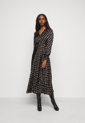 RIAVA - Day dress - noir/camel