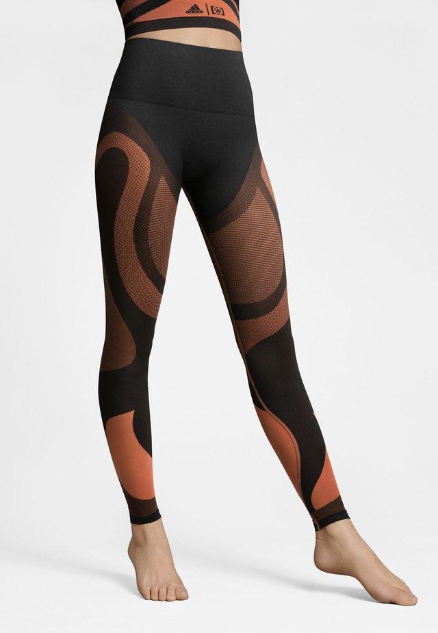 Leggings - Hosen - sequoia/black