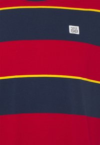 Nike SB - TEE STRIPE UNISEX - Print T-shirt - midnight navy - 2