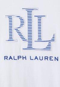 Lauren Ralph Lauren Petite - KATLIN SHORT SLEEVE - Print T-shirt - white - 2