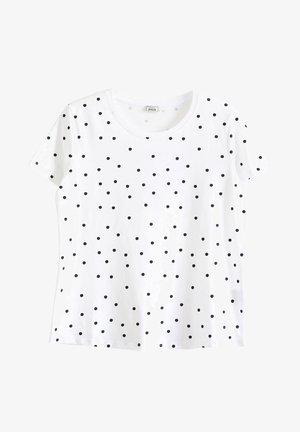 MIT AUFDRUCK - Print T-shirt - weiß