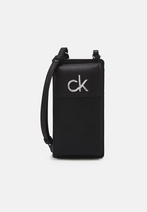 PHONE XBODY POUCH - Across body bag - black