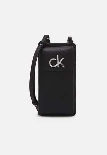 PHONE XBODY POUCH - Across body bag - black