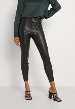 VIBARB PANTS - Trousers - black