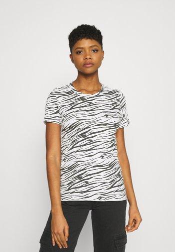 ONLGINA LIFE - Print T-shirt - cloud dancer