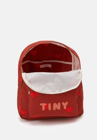 TINYCOTTONS - HEARTS BIG BACKPACK - Zaino - sienna/red - 2