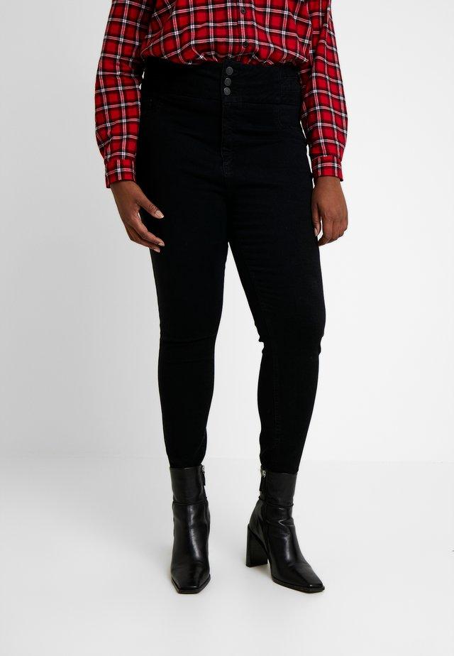 LIFT AND SHAPE - Jeans Skinny - black