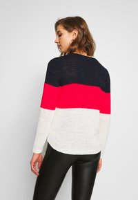 ONLY - ONLGEENA - Maglione - night sky/high risk red/cloud dance - 2