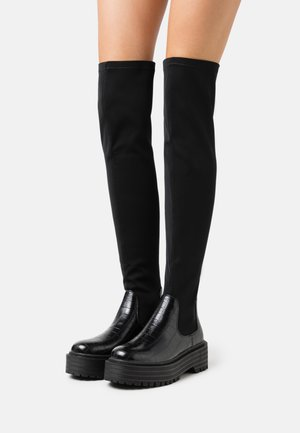 RANGER - Over-the-knee boots - black
