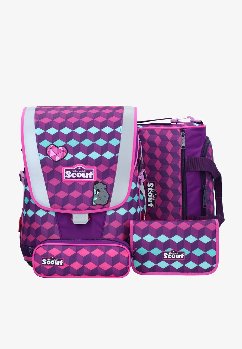 Scout - SET 4 - School bag - victoria