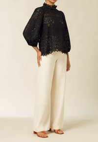 IVY & OAK - PUFFY BLOUSE - Blouse - black