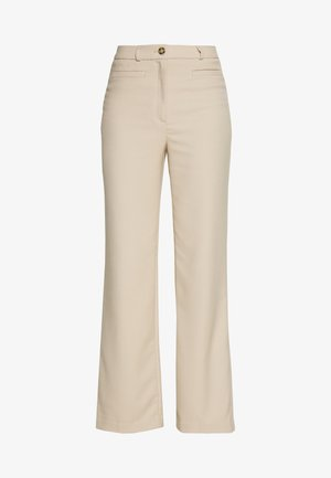 STACY TROUSERS - Trousers - beige