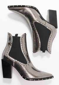 Pinko - ENDINE  - High heeled ankle boots - grey - 3
