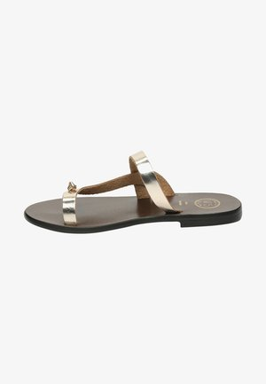 AMANY  - T-bar sandals - gold