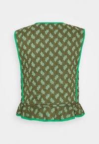 Noa Noa - Waistcoat - print green - 1