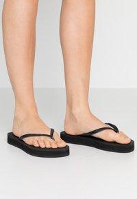 Havaianas - SLIM FLATFORM - Pool shoes - black - 0