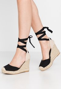 New Look - TRINIDAD - Sandały na obcasie - black - 0