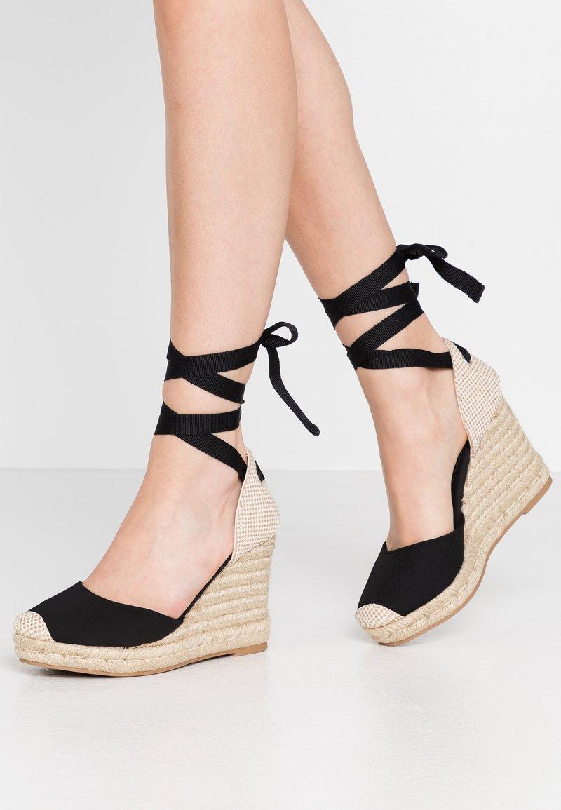 New Look - TRINIDAD - High heeled sandals - black