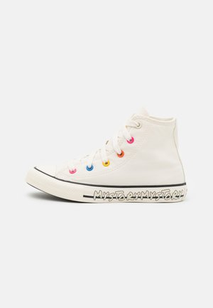 CHUCK TAYLOR ALL STAR MY STORY UNISEX - Korkeavartiset tennarit - egret/hyper pink/black