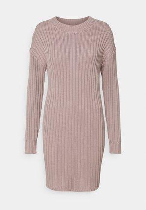 JUMPER DRESS - Jumper dress - taupe