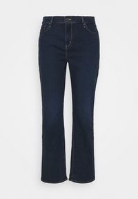 Levi's® Plus - 724 PL HR STRAIGHT - Straight leg jeans - dark blue denim - 4