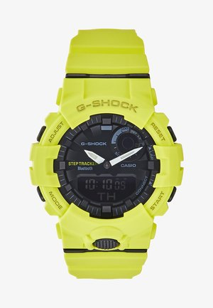 Digitaluhr - neon yellow