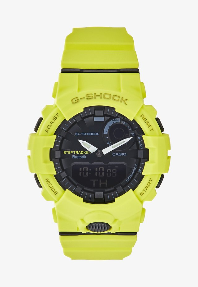 Montre à affichage digital - neon yellow