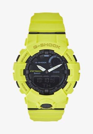 Digitální hodinky - neon yellow