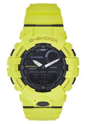 Digital watch - neon yellow