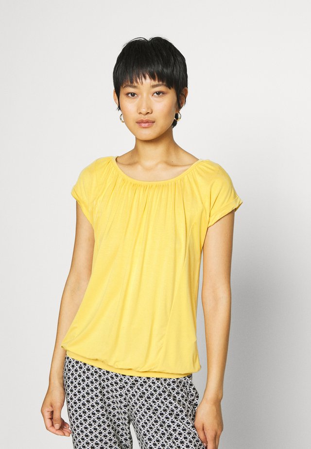 MARICA  - Jednoduché triko - yellow