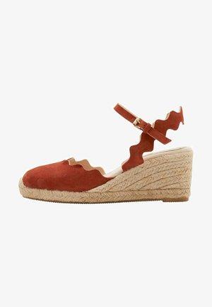 High heels - kupferrot