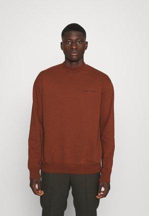 NORSBRO CREW NECK   - Sweater - cherry mahogany