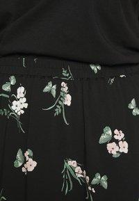 Vero Moda Curve - VMSIMPLY EASY SKIRT - Maxi skirt - black/ann - 7